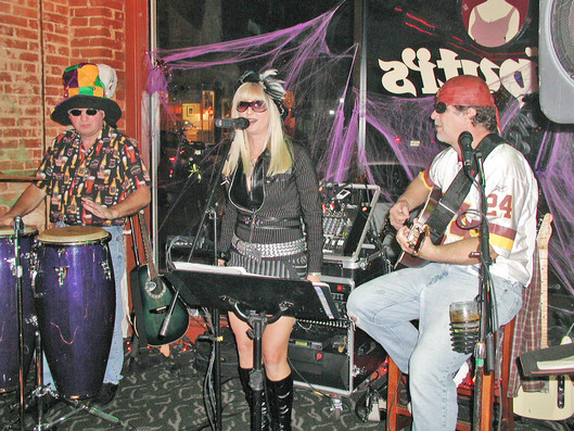 The Vicki Roberts Band Halloween Picture